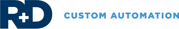 R+D Custom Automation logo